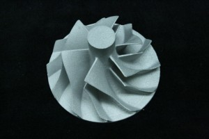 ターボインペラ 光造形精密鋳造品(ステンレス)