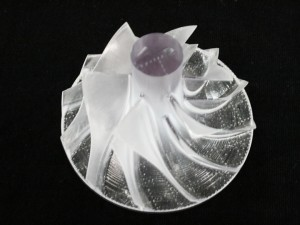 Master model for turbo impeller made by stereolithography
