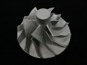 Die casted turbo impeller