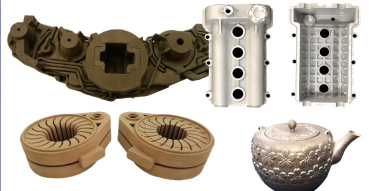 鋳造用砂型3Dプリンター専用材料